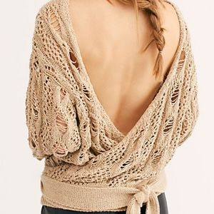 """FREE PEOPLE """"Baja Sur Pullover Sweater"""" NWT (:"""
